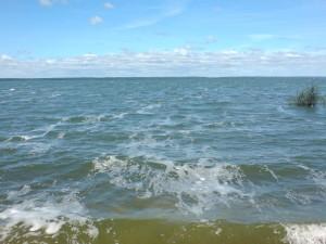 волна на Лукомльском