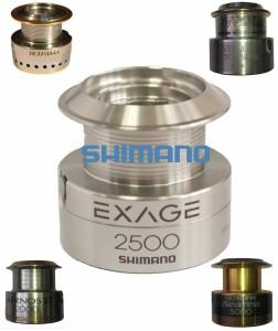 запасная металлическая шпуля SHIMANO