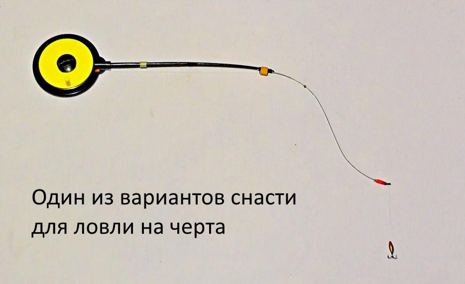 рыбалка на черта особенности