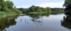 участок реки Свислочь