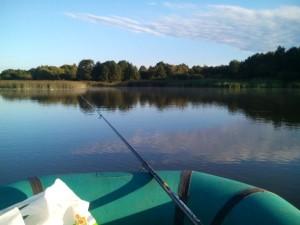 рыбалка на Нюле