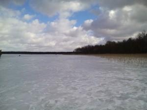 озеро Воронь 25-02-17