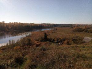 озеро Истинка осень