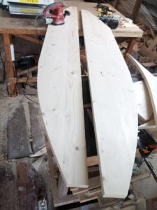 борта лодки